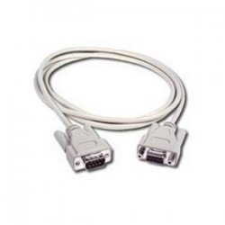 C2G (Cables To Go) - 02711 - C2G 6ft DB9 M/F Extension Cable - Beige - DB-9 Male - DB-9 Female - 6ft