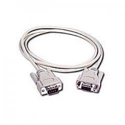 C2G (Cables To Go) - 02712 - C2G 10ft DB9 M/F Extension Cable - Beige - DB-9 Male - DB-9 Female - 10ft