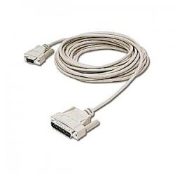 C2G (Cables To Go) - 03021 - C2G 15ft DB25 Male to DB9 Female Null Modem Cable - DB-25 Male - DB-9 Female - 15ft - Beige