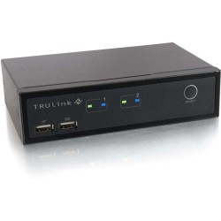 C2G (Cables To Go) - 52088 - C2G TruLink 2-Port DVI and USB KVM with Audio - 2 Computer(s)USBDVI
