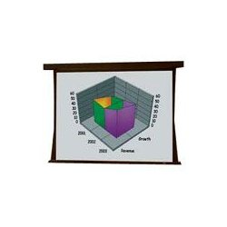 Draper - 101170 - Draper Premier Electrol Projection Screen - 50 x 50 - M1300 - 71 Diagonal