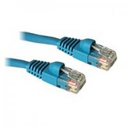 C2G (Cables To Go) - 15178 - 3ft Cat5e Snagless Unshielded (UTP) Ethernet Network Patch Cable - Blue - Category 5e for Network Device - RJ-45 Male - RJ-45 Male - 3ft - Blue