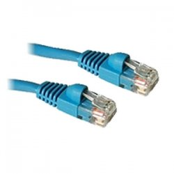 C2G (Cables To Go) - 15206 - 14ft Cat5e Snagless Unshielded (UTP) Ethernet Network Patch Cable - Blue - Category 5e for Network Device - RJ-45 Male - RJ-45 Male - 14ft - Blue