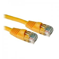 C2G (Cables To Go) - 15210 - C2G-14ft Cat5e Snagless Unshielded (UTP) Network Patch Cable - Yellow - Category 5e for Network Device - RJ-45 Male - RJ-45 Male - 14ft - Yellow