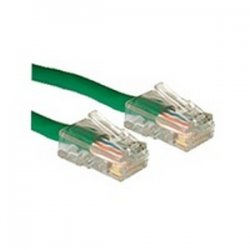 C2G (Cables To Go) - 22698 - 14ft Cat5e Non-Booted Unshielded (UTP) Network Patch Cable - Green - Category 5e for Network Device - RJ-45 Male - RJ-45 Male - 14ft - Green