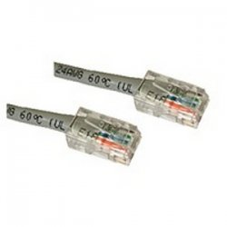 C2G (Cables To Go) - 24354 - C2G-7ft Cat5E Non-Booted Unshielded (UTP) Network Patch Cable (50pk) - Gray - Category 5e for Network Device - RJ-45 Male - RJ-45 Male - 7ft - Gray