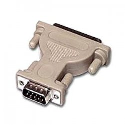 C2G (Cables To Go) - 02450 - C2G DB9 Male to DB25 Male Serial Adapter - 1 x DB-9 Male Serial - 1 x DB-25 Male Serial - Beige