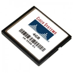 Cisco - MEM-CF-4GB= - Cisco 4GB CompactFlash (CF) Card - 4 GB