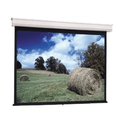 "Da-Lite - 34718 - Da-Lite Advantage Manual Projection Screen - 130"" - 16:10 - Ceiling Mount - 69"" x 110"" - Matte White"