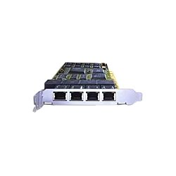 Dialogic - 306-379 - Dialogic Diva Voice Board - PCI - 4 x Network (RJ-45) - ISDN - Plug-in Card
