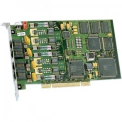 Dialogic - 881-703 - Dialogic 4-Port Analog, Loop-Start, PCI - PCI, PCI Express - 4 x Phone Line (RJ-11) - Plug-in Card