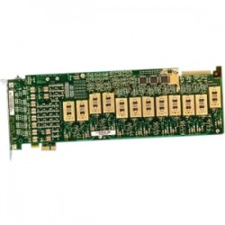 Dialogic - 881-762 - Dialogic 12-Port Analog, Loop-Start, PCI - PCI, PCI Express x1 - Plug-in Card