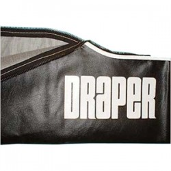 Draper - 214005 - Draper Carrying Case for Diplomat/R 104 and 10ft Projection Screen - Vinyl - Black