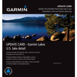 Garmin - 010-10800-80 - Garmin Land/Marine Map - North America - United States - Lake, River - Boating, Fishing, Driving - microSD/SD Card