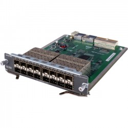 Hewlett Packard (HP) - JC095A - HPE - Expansion module - GigE - 1000Base-X - 16 ports - for HP A5800-24G-PoE, A5800-24G-SFP, A5800-48G-PoE, HPE 5800-48G, A5800-24G, A5800-48G