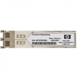 Hewlett Packard (HP) - JD103A - HPE X120 - SFP (mini-GBIC) transceiver module - Gigabit Ethernet - 1000Base-LH - LC - for HPE 10512, 12504, 3600, 7506, FlexFabric 1.92, 11908