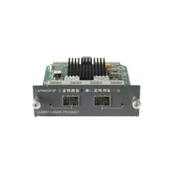 Hewlett Packard (HP) - JD367A - HPE - Expansion module - GigE - 1000Base-X - 2 ports - for HP A5120, A5500, HPE 4800, 5120, 5500