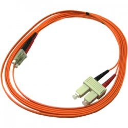 Transition Networks - FPC-MD6-STSC-10M - Transition Networks Fiber Optic Duplex Patch Cable - Fiber Optic for Network Device - Patch Cable - 33 ft - 2 x ST Male Network - 2 x SC Male Network - Orange
