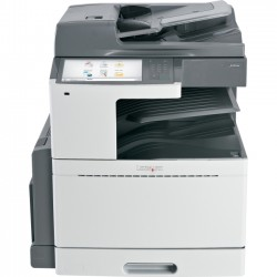 Lexmark - 22ZT156 - Lexmark X950DE LED Multifunction Printer - Color - Plain Paper Print - Desktop - Copier/Fax/Printer/Scanner - 45 ppm Mono/40 ppm Color Print - 1200 x 1200 dpi Print - Automatic Duplex Print - 45 cpm Mono/40 cpm Color Copy - 10.2""