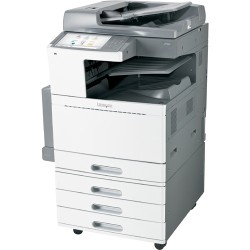 Lexmark - 22ZT157 - Lexmark X950 X952DTE LED Multifunction Printer - Color - Plain Paper Print - Floor Standing - Copier/Fax/Printer/Scanner - 50 ppm Mono/45 ppm Color Print - 1200 x 1200 dpi Print - Automatic Duplex Print - 50 cpm Mono/45 cpm Color Copy
