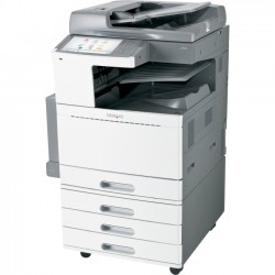 Lexmark - 22ZT158 - Lexmark X950 X954DHE LED Multifunction Printer - Color - Plain Paper Print - Floor Standing - Copier/Fax/Printer/Scanner - 55 ppm Mono/50 ppm Color Print - 1200 x 1200 dpi Print - Automatic Duplex Print - 55 cpm Mono/50 cpm Color Copy