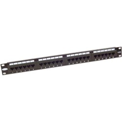 Belkin - F4P338-24-AB5 - Belkin 24-Port CAT 5e Patch Panel - 24 x RJ-45