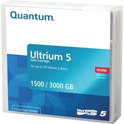 Quantum - MR-L5MQN-02 - Quantum MR-L5MQN-02 WORM Data Cartridge - LTO-5 - WORM - 1.50 TB (Native) / 3 TB (Compressed)