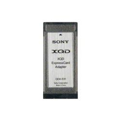 Sony - QDAEX1/SC1 - Sony XQD Card Reader - XQD Media Supported - ExpressCard/34