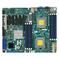 Supermicro - H8DCL-6F-O - SUPERMICRO H8DCL-6F - Motherboard - ATX - Socket C32 - 2 CPUs supported - AMD SR5690/SP5100 - 2 x Gigabit LAN - onboard graphics