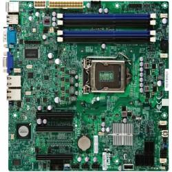Supermicro - X9SCL+-F-O - SUPERMICRO X9SCL+-F - Motherboard - micro ATX - LGA1155 Socket - C202 - 2 x Gigabit LAN - onboard graphics