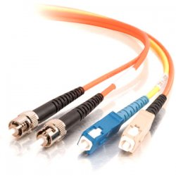 C2G (Cables To Go) - 27002 - C2G 3m SC/ST 62.5/125 Mode-Conditioning Fiber Patch Cable - Orange - SC Male - ST Male - 10ft - Orange