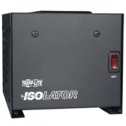 Tripp Lite - IS500 - Tripp Lite 500W Isolation Transformer with Surge 120V 4 Outlet 6ft Cord TAA GSA - Line conditioner - AC 120 V - 500 Watt - output connectors: 4 - United States