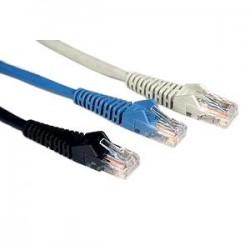 Tripp Lite - N001-003-BK - Tripp Lite 3ft Cat5e / Cat5 Snagless Molded Patch Cable RJ45 M/M Black 3' - Patch cable - RJ-45 (M) to RJ-45 (M) - 3 ft - UTP - CAT 5e - molded, snagless, stranded - black