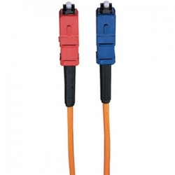 Tripp Lite - N316-01M - Tripp Lite 1M Duplex Multimode 62.5/125 Fiber Optic Patch Cable LC/SC 3' 3ft 1 Meter - LC Male - SC Male - 3.28ft
