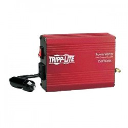 Tripp Lite - PV150 - Tripp Lite Portable Auto Inverter 150W 12V DC to 120V AC 1 Outlet 5-15R - DC to AC power inverter - 20 A - 12 V - 150 Watt - output connectors: 1