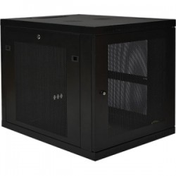 Tripp Lite - SR12UB - Tripp Lite 12U Rack Enclosure Server Cabinet Doors & Sides 300lb Capacity - 19 12U Wide - 1000 lb x Maximum Weight Capacity