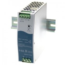 Transition Networks - 25105 - Transition Networks 48 VDC Industrial Power Supply - 110 V AC, 220 V AC Input Voltage - DIN Rail