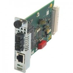 Transition Networks - CBFTF1019-105 - Transition Networks 10/100 Bridging 10/100Base-TX to 100Base-FX Media Converter - 1 x RJ-45 , 1 x LC - 10/100Base-TX, 100Base-FX