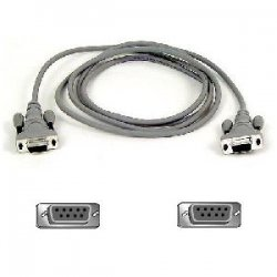 Belkin / Linksys - F3B207-06 - Belkin Pro Series Serial Cable - DB-9 Female Serial - DB-9 Female Serial - 6ft