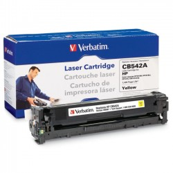 Verbatim / Smartdisk - 96967 - Verbatim Remanufactured Laser Toner Cartridge alternative for HP CB542A Yellow - Yellow - Laser