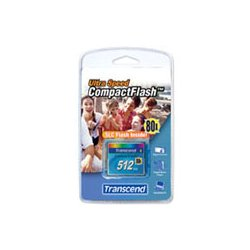 Transcend - TS32GCF133 - Transcend 32GB CompactFlash Card - (133x) - 32 GB