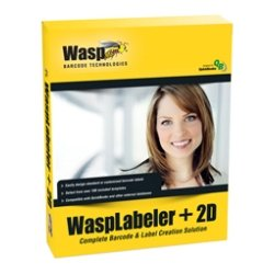 Wasp Barcode - 633808105273 - Wasp WaspLabeler +2D - Complete Product - 5 User - Standard - Barcode Labelling - Retail - PC