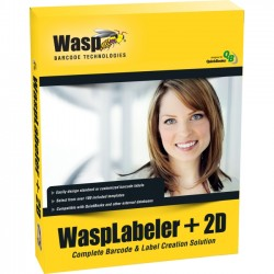 Wasp Barcode - 633808105334 - Wasp Labeller +2D v.7.0 - Version Upgrade Package - 1 User - Standard - Graphics/Designing - Retail - PC