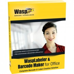 Wasp Barcode - 633808105372 - Wasp WaspLabeler & Barcode Maker for Office - License - 10 User - Standard - PC