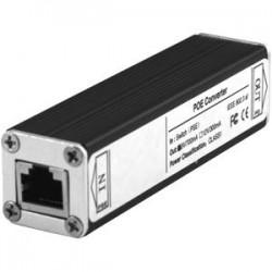 Wasp Barcode - 633808551230 - Wasp Wasp B1100 Silver Biometric Clock POE Converter - 5 V DC Input - Silver