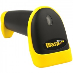 Wasp Barcode - 633808121679 - Wasp WLR8950 Long Range CCD Barcode Scanner (PS2) - Cable Connectivity - 450 scan/s - 12 Scan Distance - 1D - LED - CCD - Linear