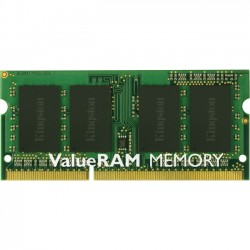 Kingston - KVR16S11/2 - Kingston 2GB 1600MHz DDR3 Non-ECC CL11 SODIMM - 2 GB - DDR3 SDRAM - 1600 MHz - 1.50 V - Non-ECC - Unbuffered - 204-pin - SoDIMM