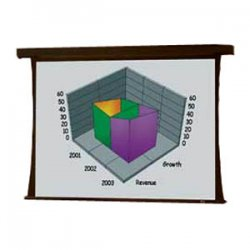 Draper - 101056 - Draper Premier Electrol Projection Screen - 60 x 80 - M1300 - 100 Diagonal