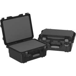 Plano Molding - 109170 - Plano Molding 109170 FIELD LOCKER XL MIL-SPEC PISTOL CASE - Latching Closure - Stackable - Black - For Pistol - 1 / Carton