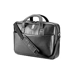Hewlett Packard (HP) - H4J94UT - HP Carrying Case (Briefcase) for 17.3 Notebook, Tablet PC - Leather